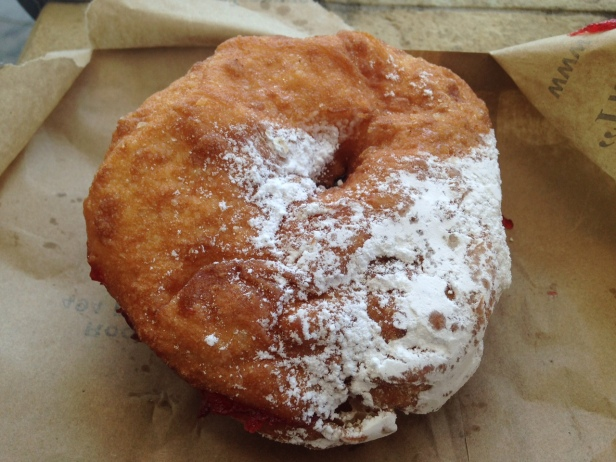 Alexander's Bakery Strawberry Jam Doughnut