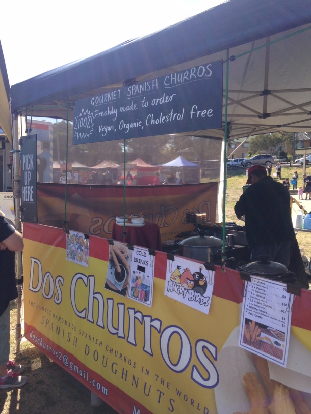Churros Spanish Doughnuts stand