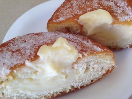 Italian Custard Doughnut