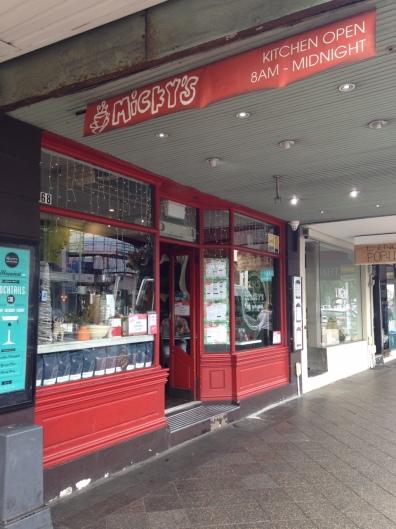 Mickey's Cafe, Paddington