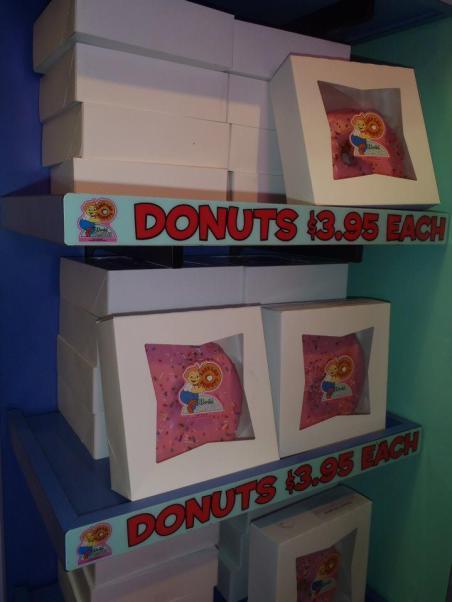 Krustyland Doughnuts, Universal Studios, Domnuts
