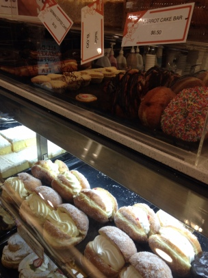 The doughnuts at Rheinland Bakery Rundle Place