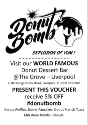 Donut Bomb offer March2018