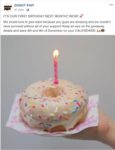 donut papi birthday