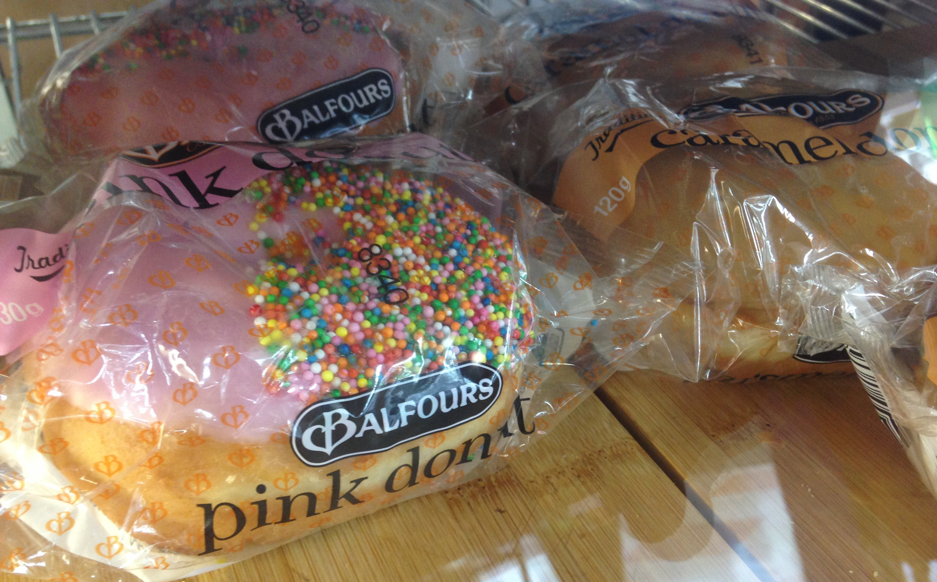 Balfour Doughnuts - pink