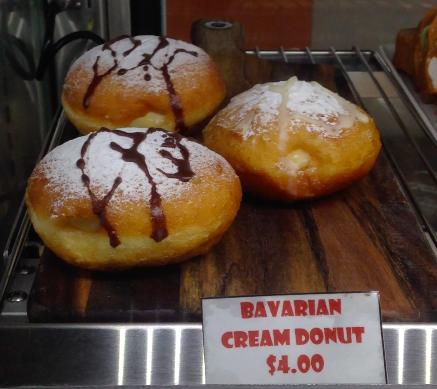 Doughnuts at Whangarei