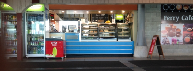Ferry Cafe - Auckland Wharf